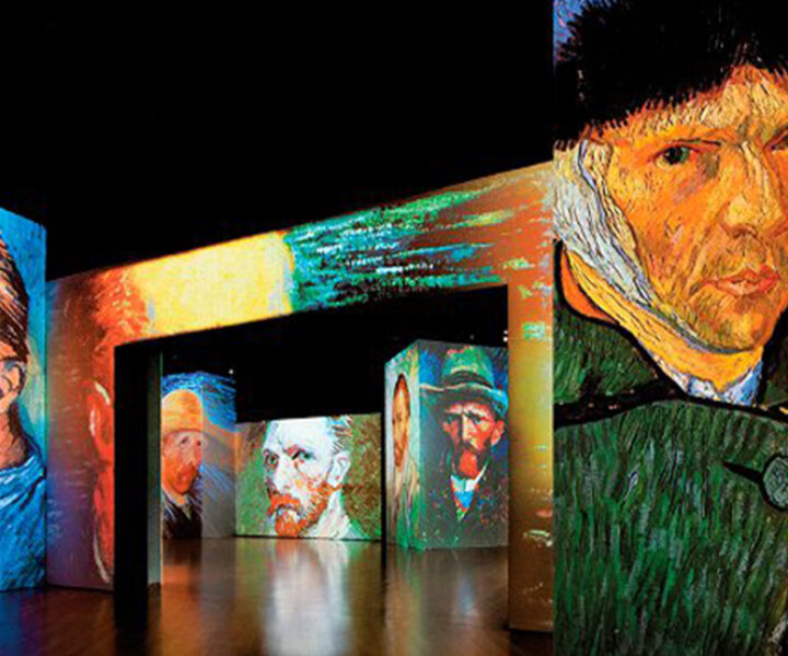 Exposición multimedia Van Gogh en Madrid.