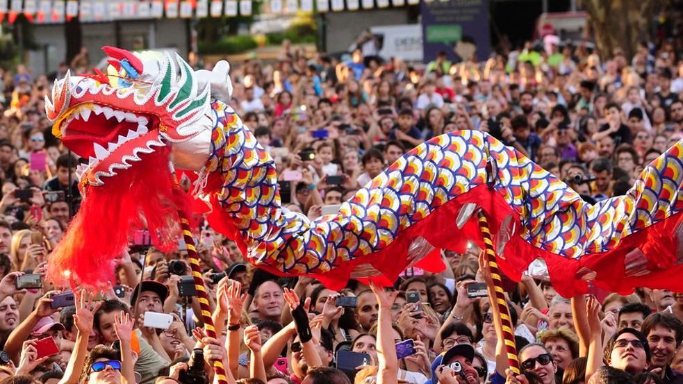 desfile año nuevo chino 2019