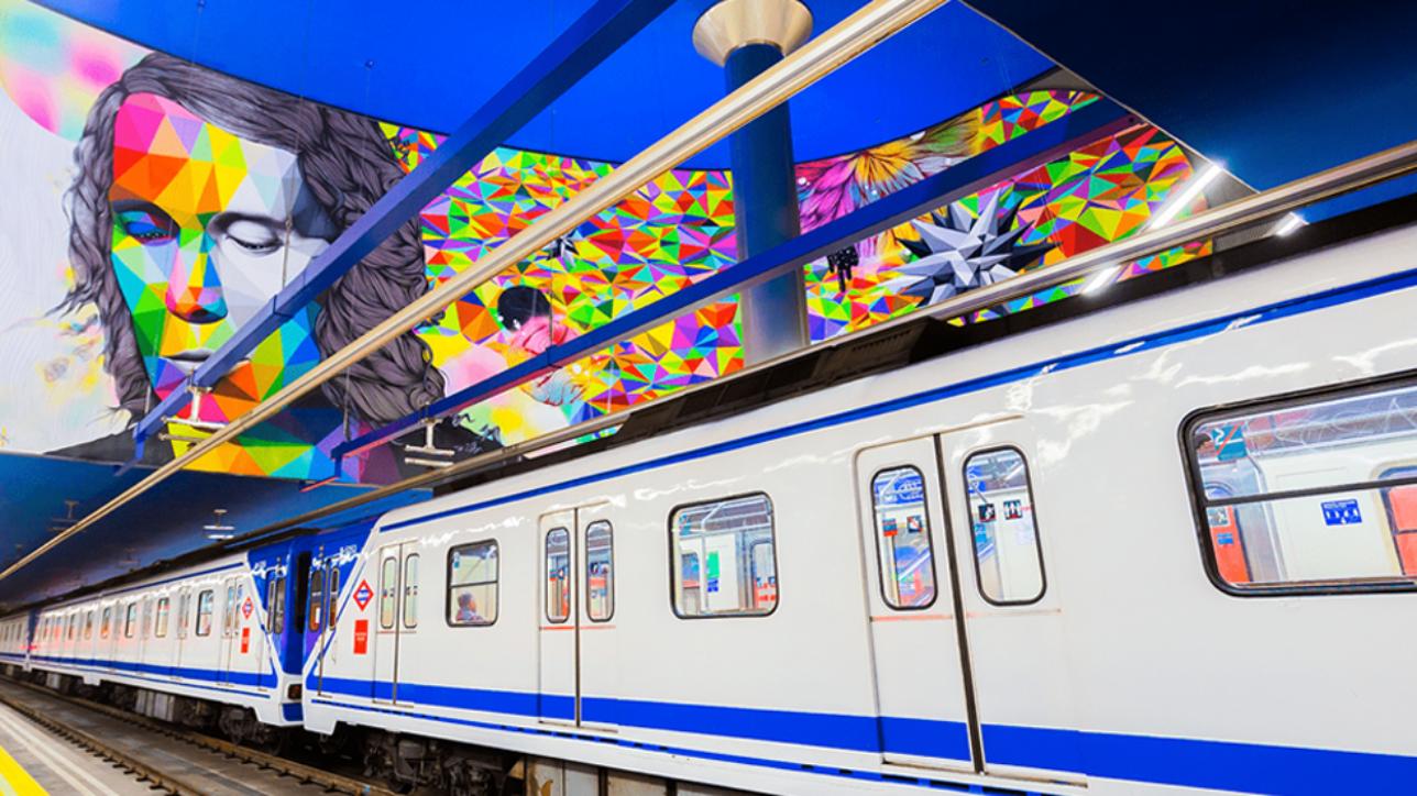 Centenario Metro Madrid.