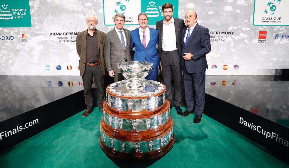 Presentación Copa Davis