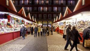 Mercado de Navidad en Madrid