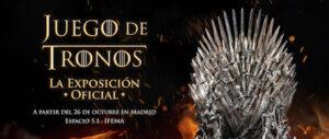 Expo Juego de Tronos Hostal Oriente MADRID