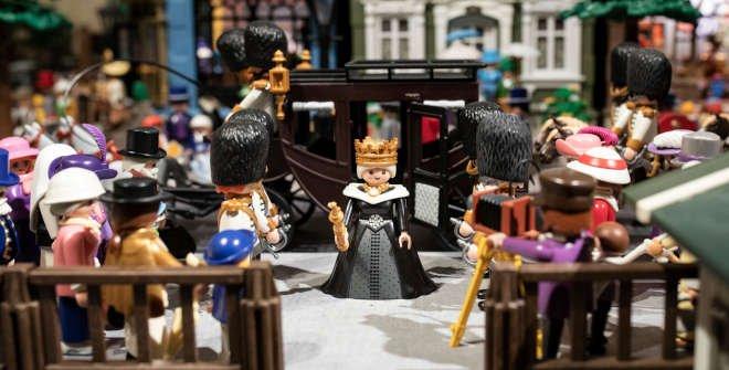 Hostal Oriente Playmobil expo figuras