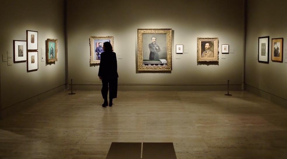 Hostal Oriente - exposición Madrid